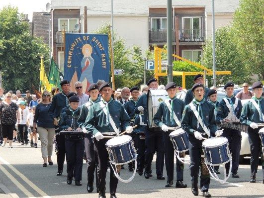 5th Leek Scout Band